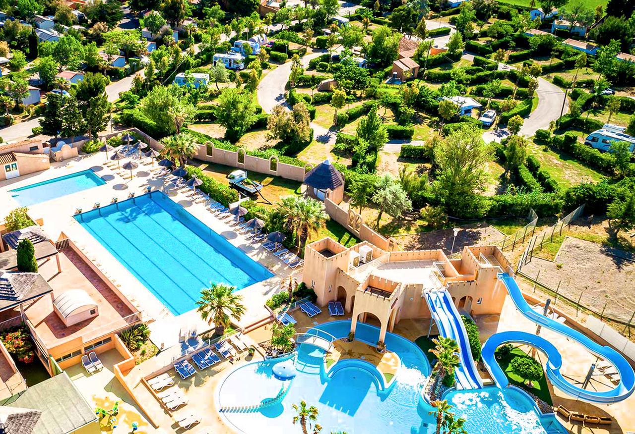 Top 3 des campings 5 étoiles en bord de mer Méditerranée
